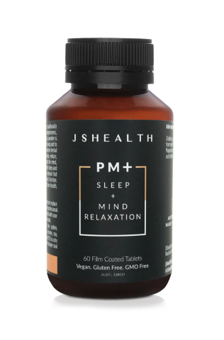 JS Health PM+ Sleep Mind Relaxation 60 Tablets