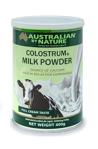 Australia by Nature colostrum & milk powder